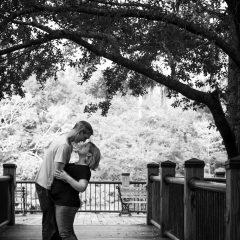 Hug under the oak